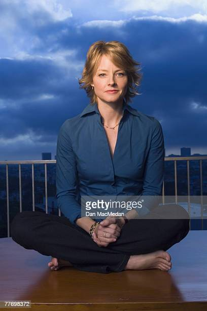 Actress Jodie Foster is photographed for USA Today on September 17 2005 at the Century Plaza Hotel in Century City California
