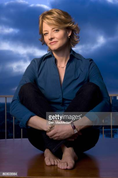 Actress Jodie Foster is photographed for USA Today on September 17, 2005 at the Century Plaza Hotel in Century City, California.