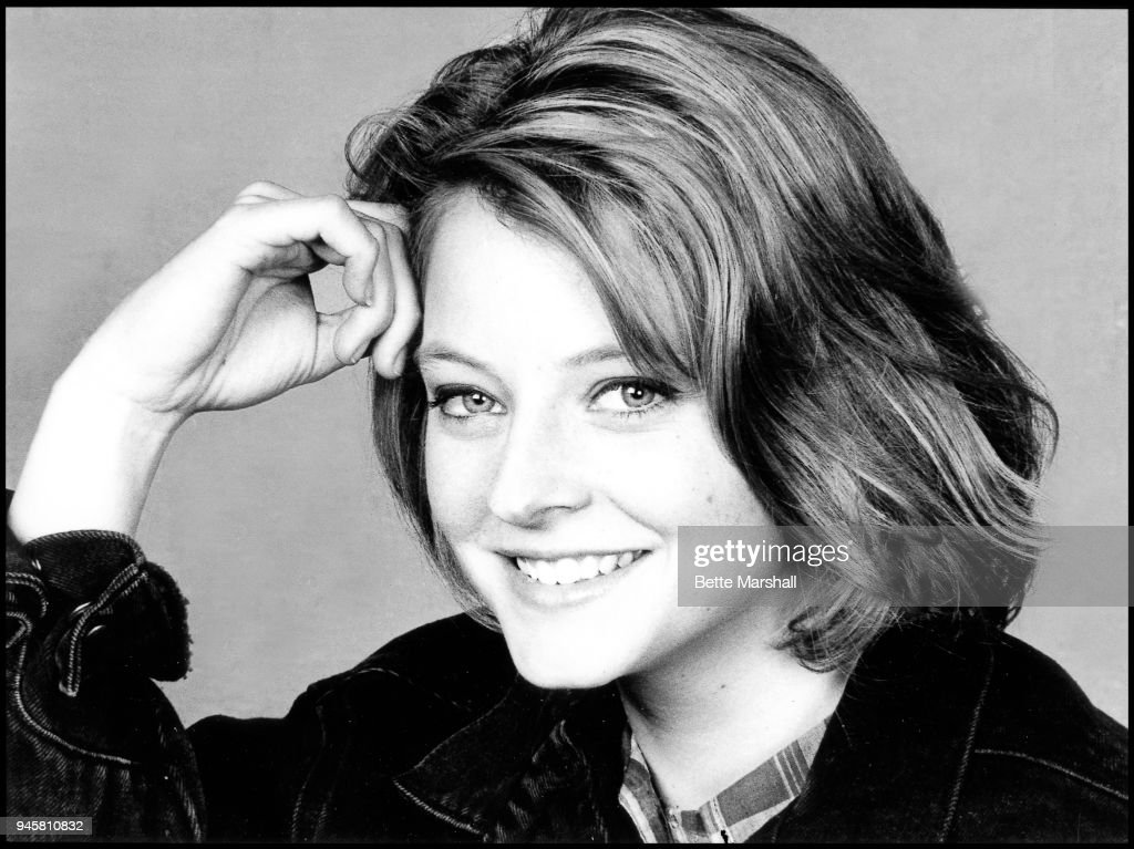Actress Jodie Foster is photographed in 1987 in New York City.