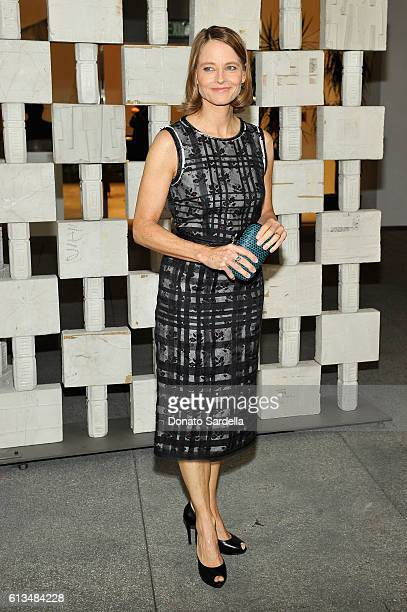 Actress Jodie Foster wearing Bottega Veneta attends the Hammer Museum 14th Annual Gala In The Garden with generous support from Bottega Veneta at...