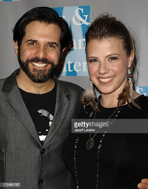 Actress Jodie Sweetin and Morty Coyle attend LA Gay Lesbian Center's An Evening With Women at The Beverly Hilton hotel on April 16 2011 in Beverly...