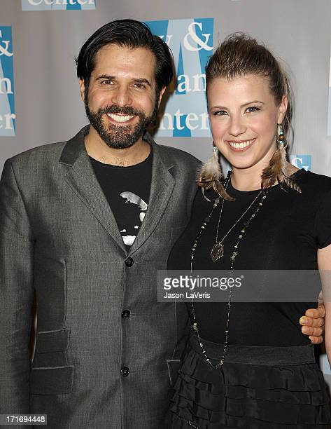 Actress Jodie Sweetin and Morty Coyle attend LA Gay Lesbian Center's 'An Evening With Women' at The Beverly Hilton hotel on April 16 2011 in Beverly...