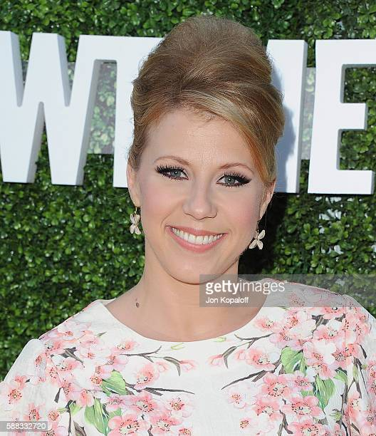 Actress Jodie Sweetin arrives at CBS, CW, Showtime Summer TCA Party at Pacific Design Center on August 10, 2016 in West Hollywood, California.