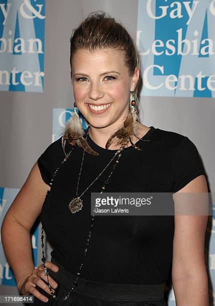 Actress Jodie Sweetin attends LA Gay Lesbian Center's 'An Evening With Women' at The Beverly Hilton hotel on April 16 2011 in Beverly Hills California