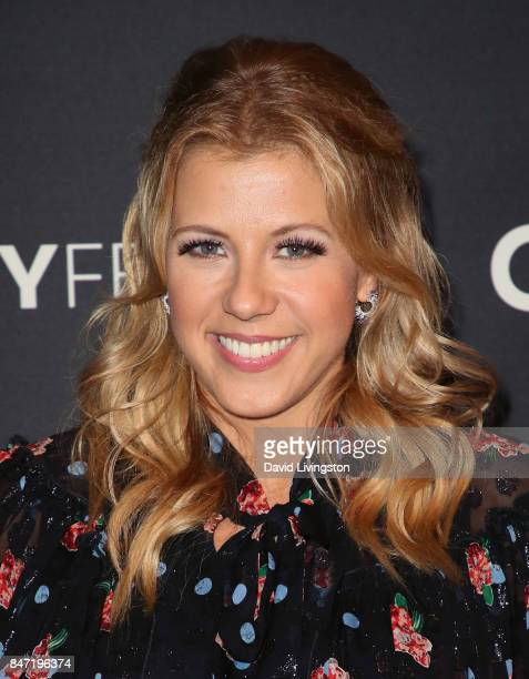 Actress Jodie Sweetin attends The Paley Center for Media's 11th Annual PaleyFest fall TV previews Los Angeles for Netflix's 'Fuller House' at The...