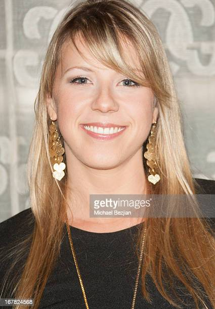 Actress Jodie Sweetin walks the red carpet at Scleroderma Research Foundation's Cool Comedy Hot Cuisine at Regent Beverly Wilshire Hotel on April 30...