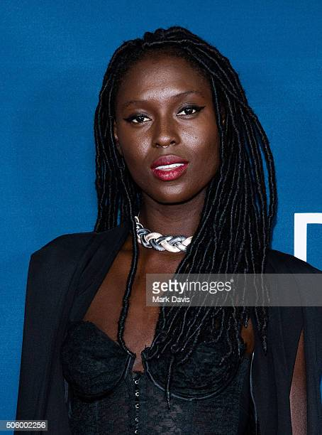Actress Jodie TurnerSmith attends the red carpet premiere screening of Amazon original series 'Mad Dogs' at Pacific Design Center on January 20 2016...