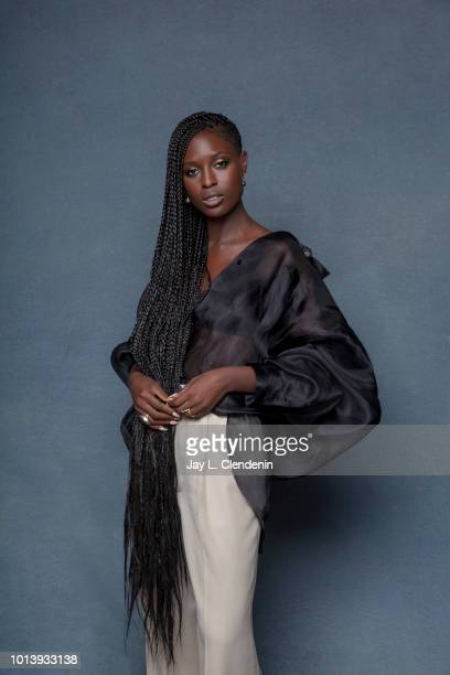 Actress Jodie TurnerSmith from the television series 'Nightflyers' is photographed for Los Angeles Times on July 19 2018 in San Diego California...
