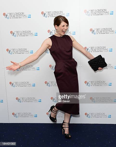 Actress Jodie Whittaker attends the 'Good Vibrations' premiere during the 56th BFI London Film Festival at the Odeon West End on October 19 2012 in...