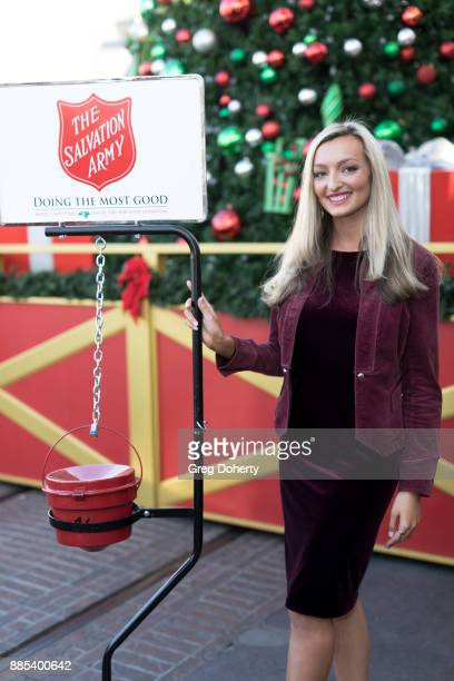 Actress Joell Posey attends The Salvation Army Celebrity Kettle Kickoff Red Kettle Hollywood at the Original Farmers Market on November 30 2017 in...