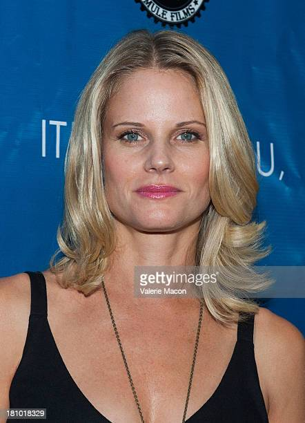 Actress Joelle Carter arrives at the premiere of It's Not You It's Me at Downtown Independent Theatre on September 18 2013 in Los Angeles California