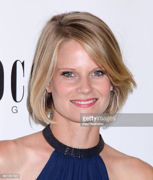 Actress Joelle Carter attending COCO ECO Magazine Launches Debut Print Issue EARTH ROCKS An Evening Of EcoChic Fashion Beauty at Roy Robinson at Fred...