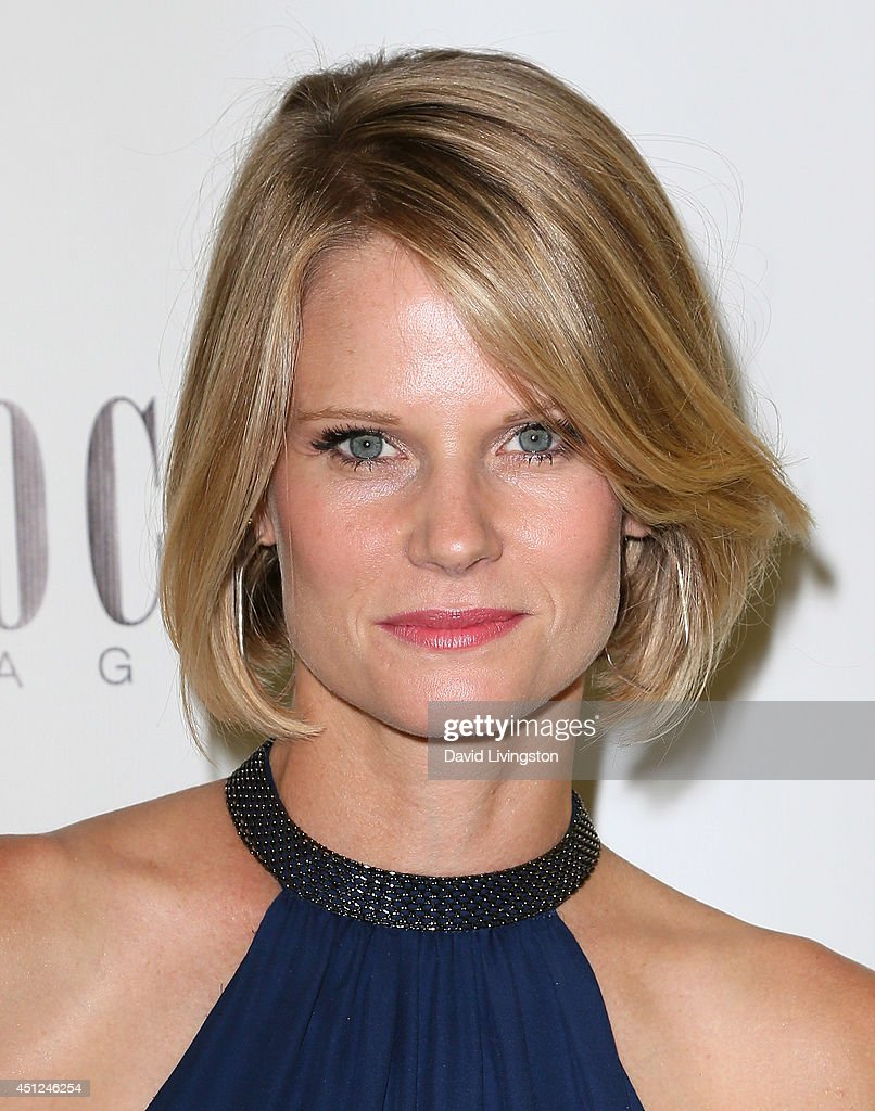 Actress Joelle Carter attends Coco Eco Magazine's launch of it's Earth Rocks! debut print issue at Roy Robinson at Fred Segal on June 25, 2014 in Los Angeles, California.