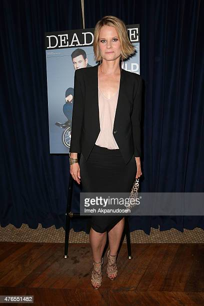 Actress Joelle Carter attends Deadline Hollywood's 2015 Emmy party at The Spare Room on June 9 2015 in Hollywood California