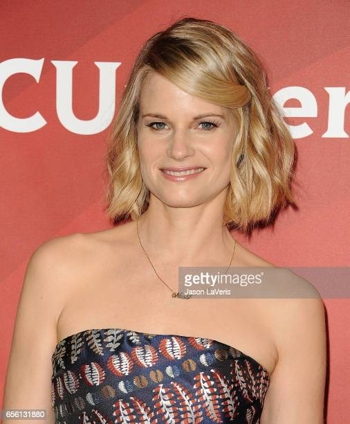 Actress Joelle Carter attends the 2017 NBCUniversal summer press day The Beverly Hilton Hotel on March 20 2017 in Beverly Hills California
