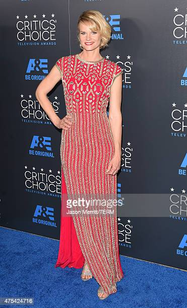 Actress Joelle Carter attends the 5th Annual Critics' Choice Television Awards at The Beverly Hilton Hotel on May 31 2015 in Beverly Hills California