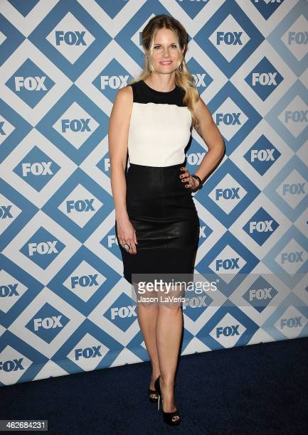 Actress Joelle Carter attends the FOX AllStar 2014 winter TCA party at The Langham Huntington Hotel and Spa on January 13 2014 in Pasadena California