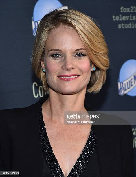 Actress Joelle Carter attends the premiere of FX's The Comedians at The Broad Stage on April 6 2015 in Santa Monica California