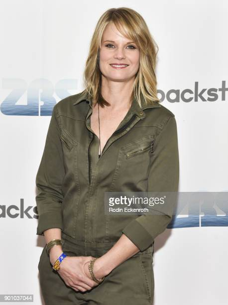 Actress Joelle Carter attends ZBS Backstage Present The Wonder Women of Hollywood at Zak Barnett Studios on January 3 2018 in Los Angeles California
