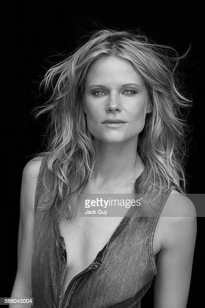 Actress Joelle Carter is photographed for Emmy Magazine in 2011 in Los Angeles California PUBLISHED IMAGE