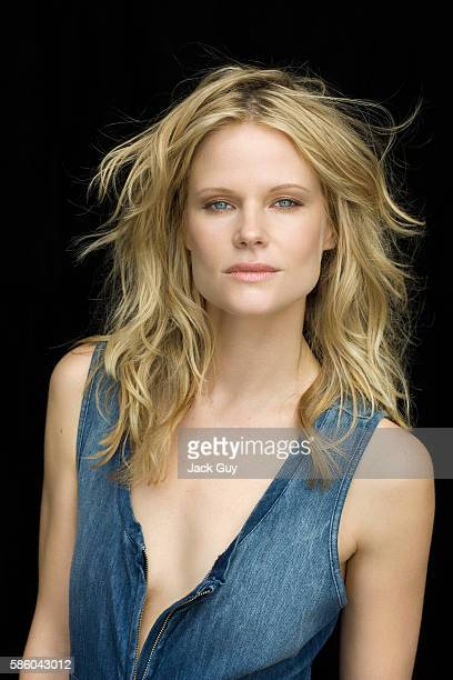 Actress Joelle Carter is photographed for Emmy Magazine in 2011 in Los Angeles California