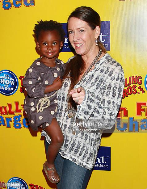 Actress Joely Fisher and daughter Olivia Luna FisherDuddy attends Ringling Bros Barnum and Bailey Starlight Children's Foundation's premiere of Fully...