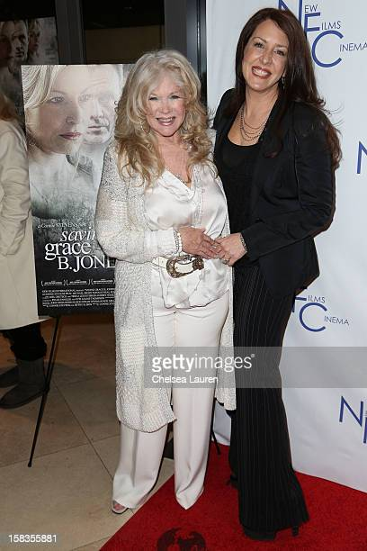 Actress Joely Fisher and director Connie Stevens attend the screening of Saving Grace B Jones at ICM Screening Room on December 13 2012 in Century...