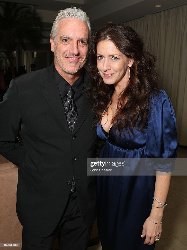 Actress Joely Fisher and husband attends The Gersh Agency EMMY Party w/Special Guest Frederic Fekkai held at The Terrace at Sunset Tower Hotel on September 14, 2007 in Los Angeles, California.