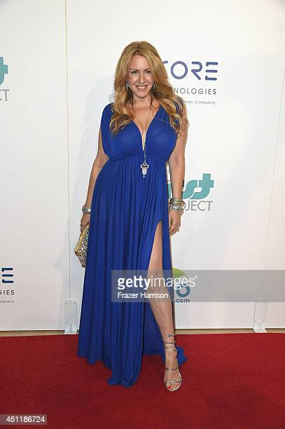Actress Joely Fisher arrives at the 5th Annual Thirst Gala Hosted By Jennifer Garner In Partnership With Skyo And Relativity's 'Earth To Echo' at The...