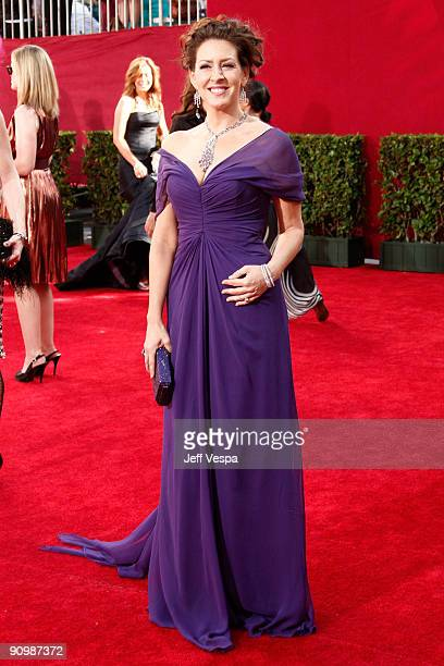 Actress Joely Fisher arrives at the 61st Primetime Emmy Awards held at the Nokia Theatre on September 20 2009 in Los Angeles California