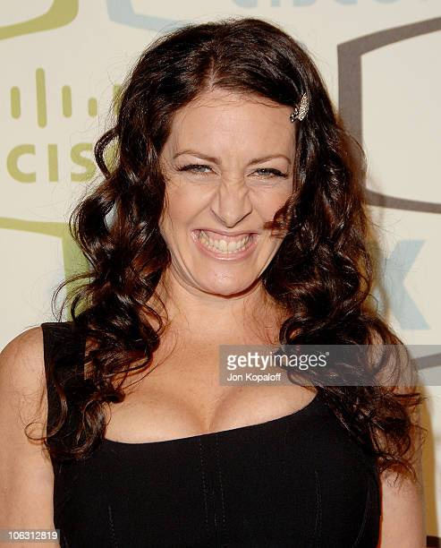Actress Joely Fisher arrives at the FOX Fall EcoCasino Party at Area on September 24 2007 in Los Angeles California