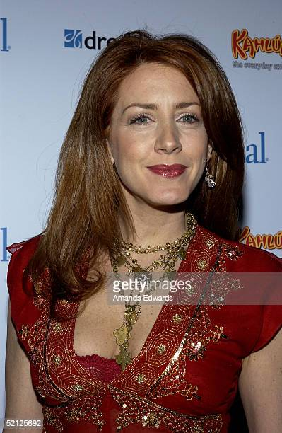 "Actress Joely Fisher arrives at the Ladies' Home Journal ""Funny Ladies We Love"" Awards on February 2, 2005 at Pearl in West Hollywood, California."