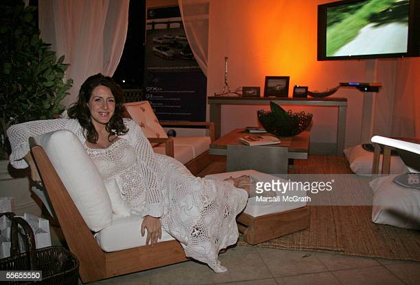 Actress Jodie Fisher at the Los Angeles Spa Week Party at the Bel Age Hotel on September 15 2005 in Los Angeles CA