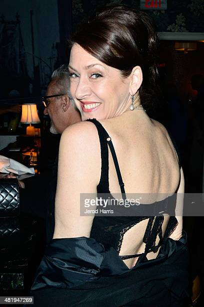 Actress Joely Fisher attends an evening with Azzedine Downes President and CEO of the International Fund for Animal Welfare at Porta Via Restaurant...
