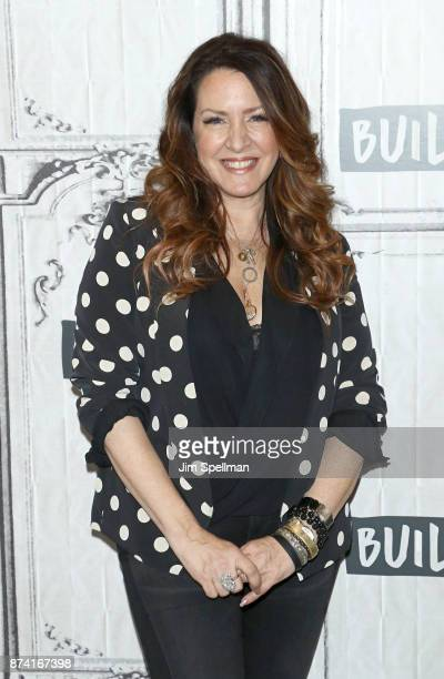 Actress Joely Fisher attends Build to discuss 'Growing Up Fisher Musings Memories and Misadventures' at Build Studio on November 14 2017 in New York...