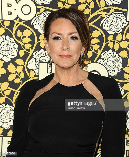 Actress Joely Fisher attends HBO's post 2016 Golden Globe Awards party at Circa 55 Restaurant on January 10 2016 in Los Angeles California