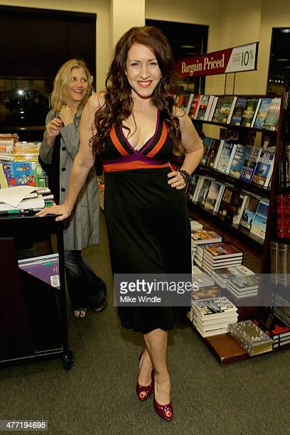 Actress Joely Fisher attends the Annabelle Gurwitch book signing for I See You Made An Effort at Barnes Noble bookstore at The Grove on March 7 2014...