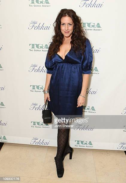Actress Joely Fisher attends The Gersh Agency EMMY Party w/Special Guest Frederic Fekkai held at The Terrace at Sunset Tower Hotel on September 14...