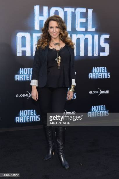 Actress Joely Fisher attends the Los Angeles premiere of 'Hotel Artemis' on May 19, 2018 in Westwood Village, California.