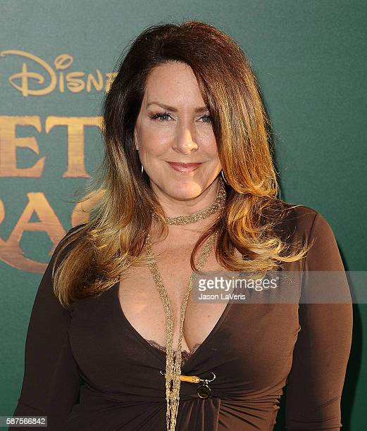 Actress Joely Fisher attends the premiere of Pete's Dragon at the El Capitan Theatre on August 8 2016 in Hollywood California