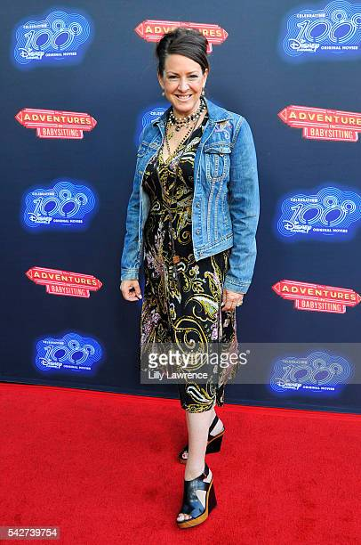 Actress Joely Fisher attends the premiere of the 100th Disney Channel Original Movie 'Adventures In Babysitting' and celebration of all DCOMS at...