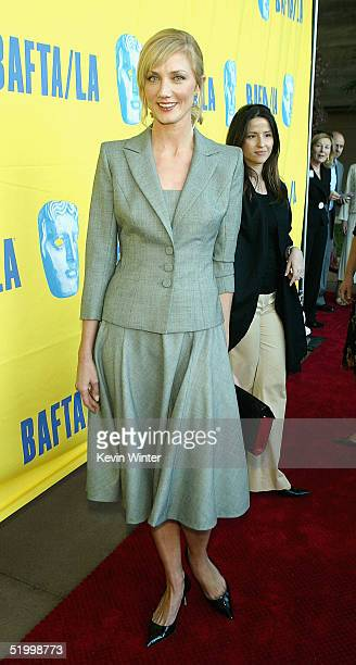Actress Joely Richardson arrives at the 11th Annual BAFTA/LA Tea Party at Park Hyatt Los Angeles Hotel on January 15 2005 in Los Angeles California