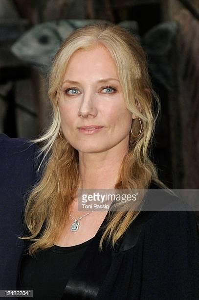 Actress Joely Richardson attends a photocall to promote the new movie 'Anonymous' at Studio Babelsberg on April 29 2010 in Potsdam Germany