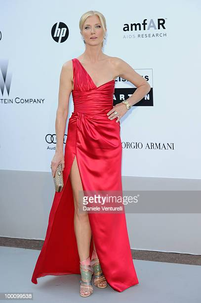 Actress Joely Richardson attends amfAR's Cinema Against Aids Gala at the Hotel Du Cap during the 63rd International Cannes Film Festival on May 20...