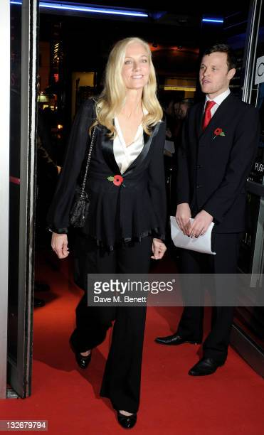 Actress Joely Richardson attends the Academy of Motion Picture Arts and Sciences' first European salute to actress Vanessa Redgrave at The Curzon...
