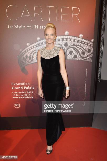 Actress Joely Richardson attends the 'Cartier Le Style et L'Histoire' Exhibition Private Opening at Le Grand Palais on December 2 2013 in Paris France