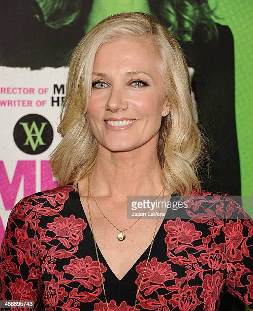 Actress Joely Richardson attends the premiere of 'Vampire Academy' at Regal Cinemas LA Live on February 4 2014 in Los Angeles California
