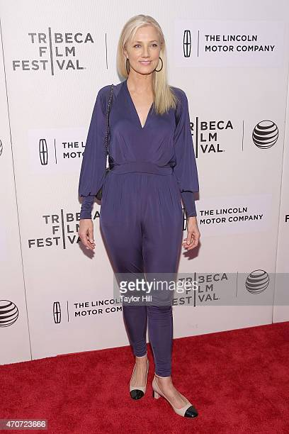 Actress Joely Richardson attends the world premiere of Maggie during the 2015 Tribeca Film Festival at BMCC Tribeca PAC on April 22 2015 in New York...