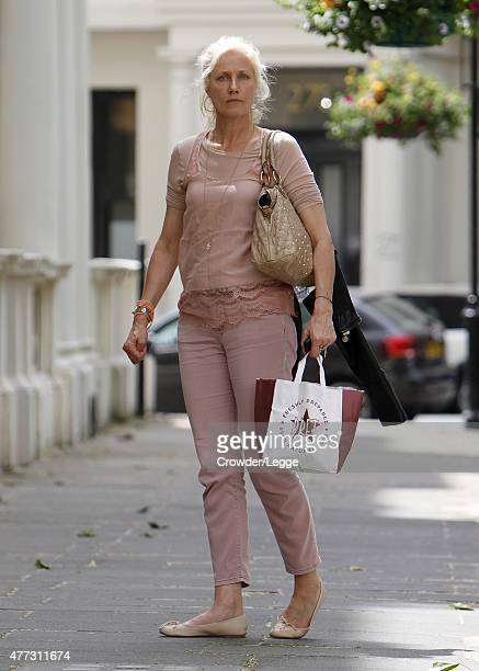 Actress Joely Richardson is pictured on June 15 2015 in London England