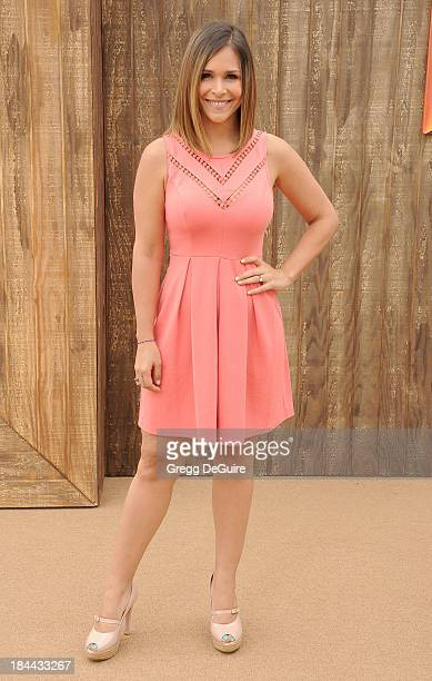 Actress Joemy Blanco arrives at the Los Angeles premiere of 'Free Birds' at Westwood Village Theatre on October 13 2013 in Westwood California